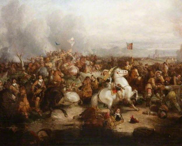 The Battle of Worcester, 3 September 1651 by Thomas Woodward