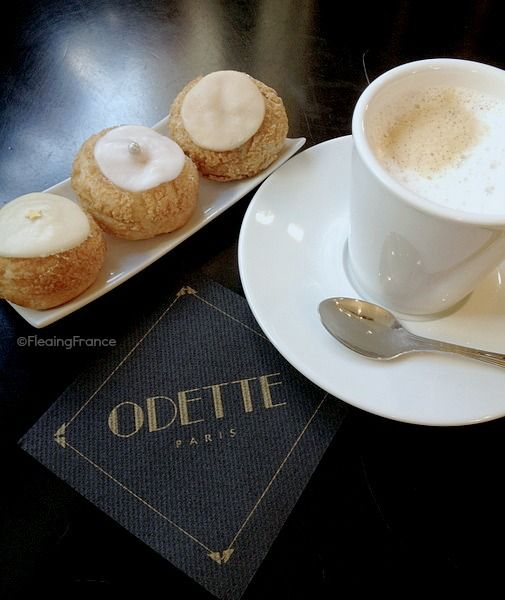 Patisserie Odette in Paris...dedicated to the perfect choux pastries and next to Notre Dame