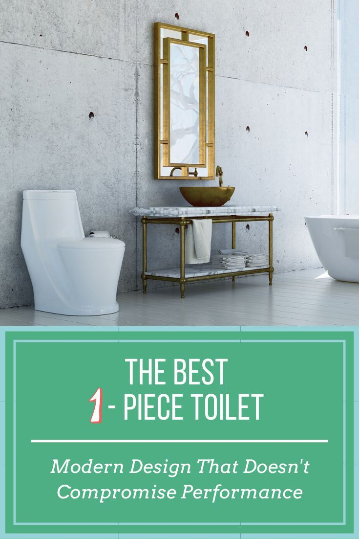 The Best One Piece Toilet Modern Design That Doesn T Compromise Performance In 2020 Modern Design One Piece Toilets Toilet Design
