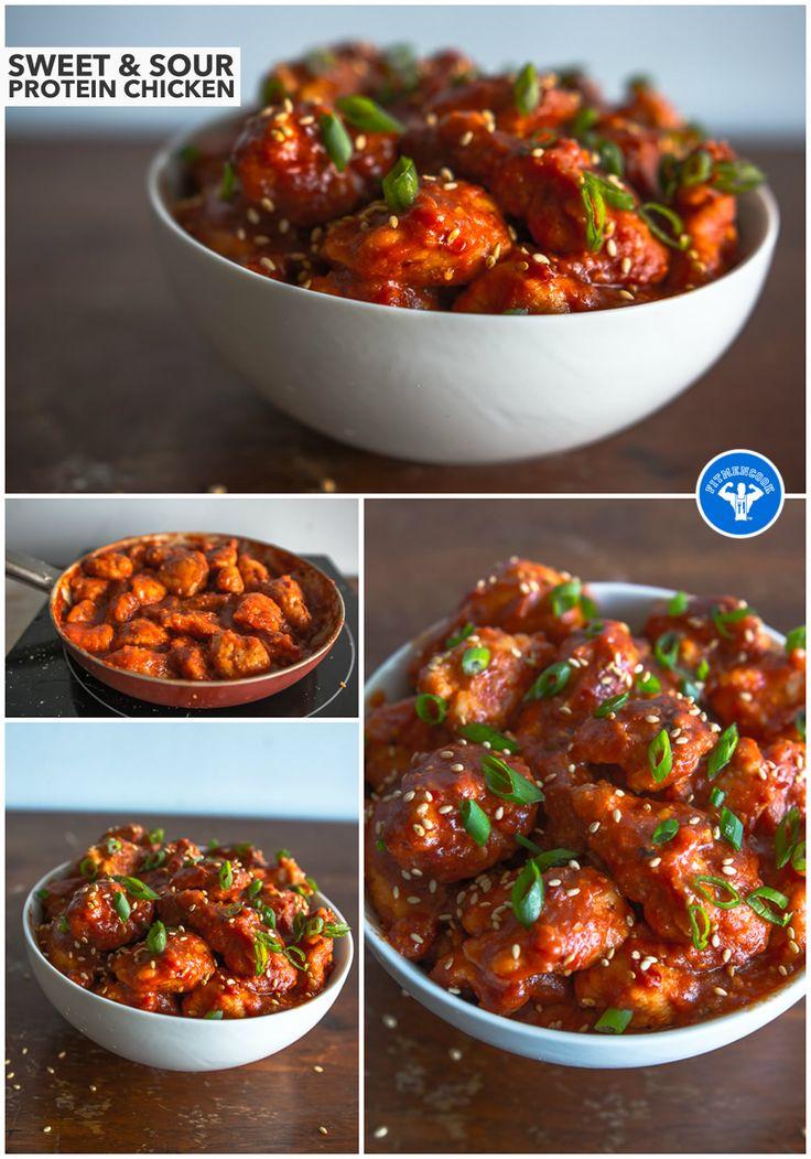 Protein Sweet & Sour Chicken | Fit Men Cook