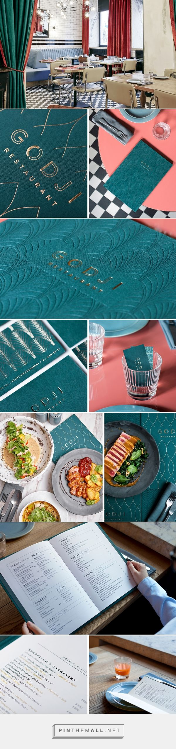 GODJI Restaurant Branding and Menu Design by Taissa Shaim | Fivestar Branding Agency – Design and Branding Agency & Curated Inspiration Gallery