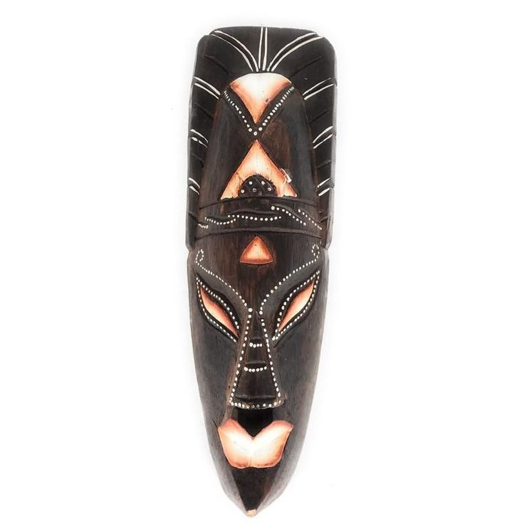 Tribal Chief Mask | Tiki Mask 12""