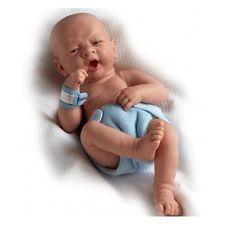Baby Boy Doll Life Like Newborn Reborn First Yawn Realistic Collector Blue
