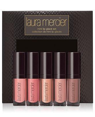 Laura Mercier Mini Lip Glacé Value Set - Laura Mercier Makeup - Beauty - Macy's _ Love these glosses!