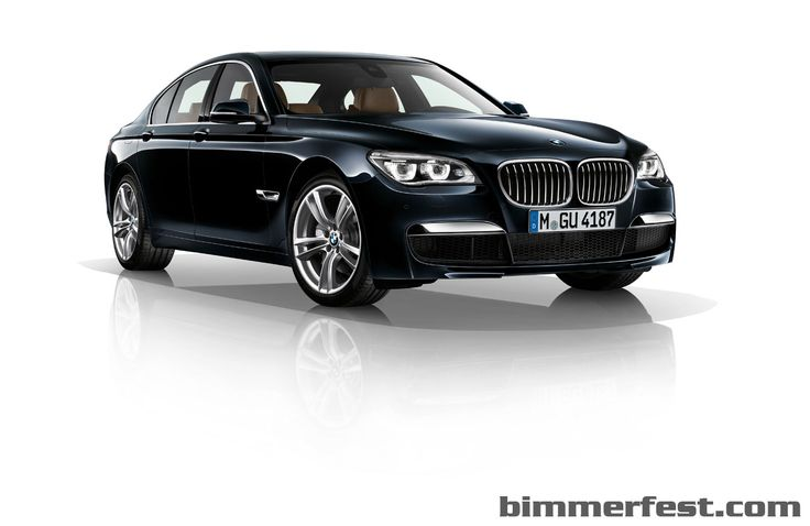 BMW 750Lxi - Carbon Black Metalic