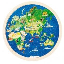 Puzzle – Zemeguľa