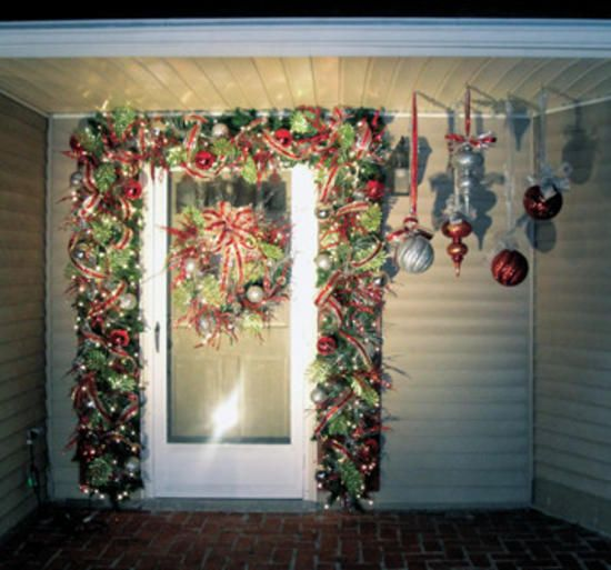 17 Best Images About Christmas Doors On Pinterest