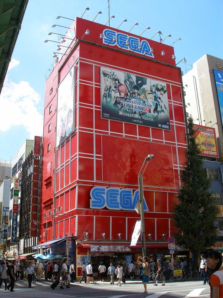Sega Arcade Building, Akihabara, Tokyo Trip to Japan