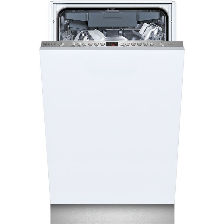 Neff S58T69X1GB Fully Integrated Slimline Dishwasher - Stainless Steel