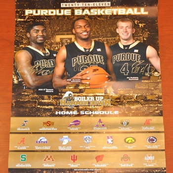 Want an autographed poster of E'Twaun Moore, JaJuan Johnson and Robbie Hummel? Go bid now!