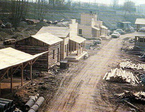 Gardaland in costruzione