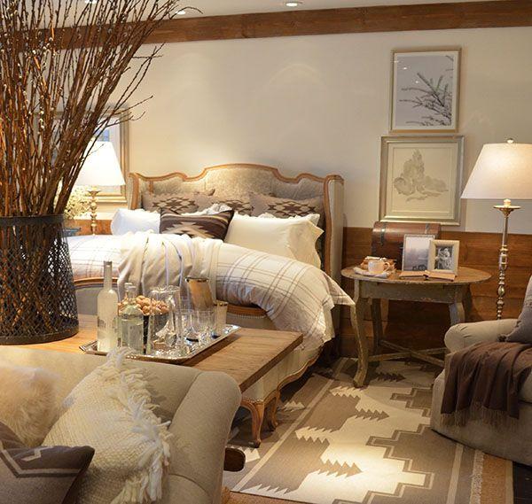Exceptionnel Ralph Laurenu0027s Alpine Lodge Collection