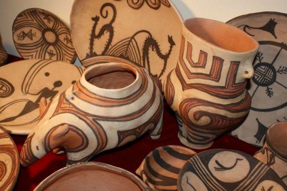 Ceramica de Cucuteni - obiecte unicat