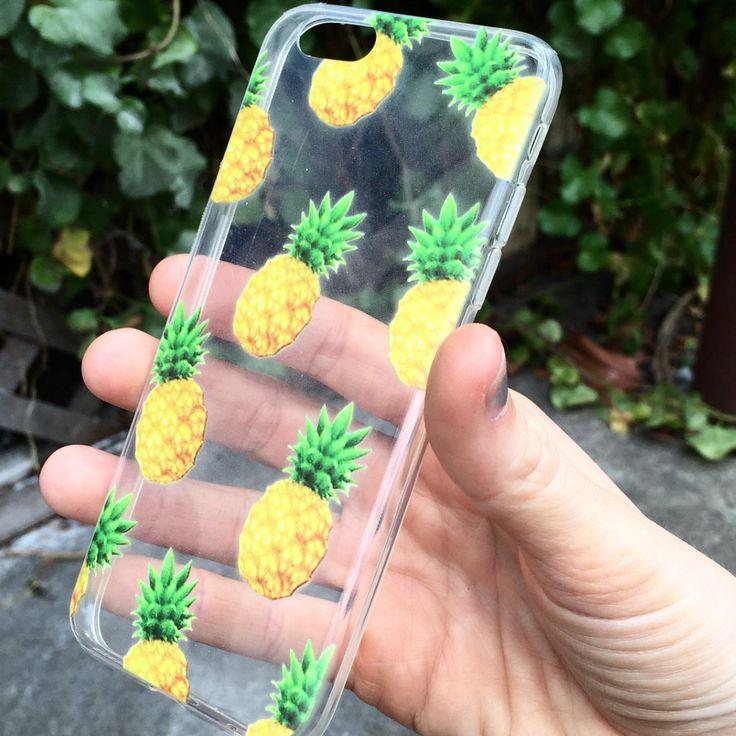 Pineapple Print Clear Phone Case   IZZY California – Izzy California