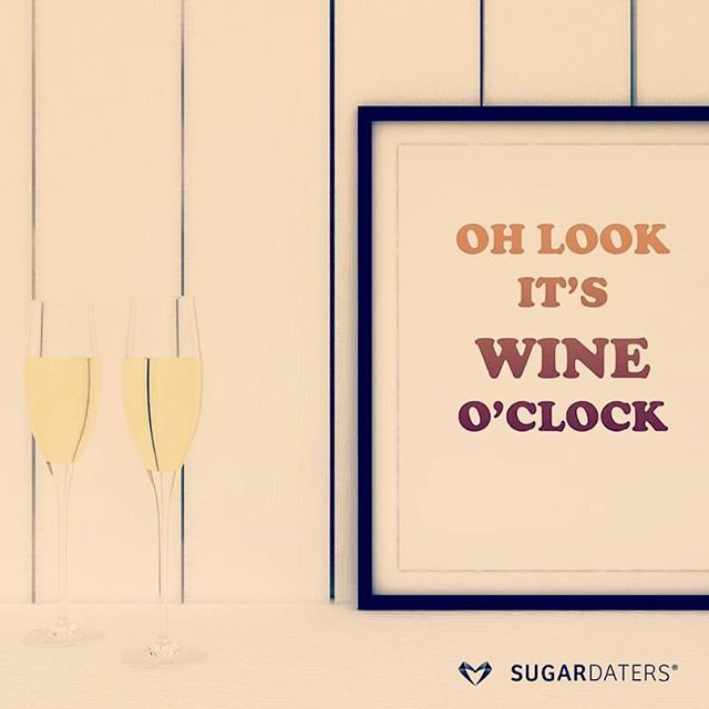 It's Monday. Who's up for a glass of wine? Or a bottle?  #sugardaddy #sugarbabe…