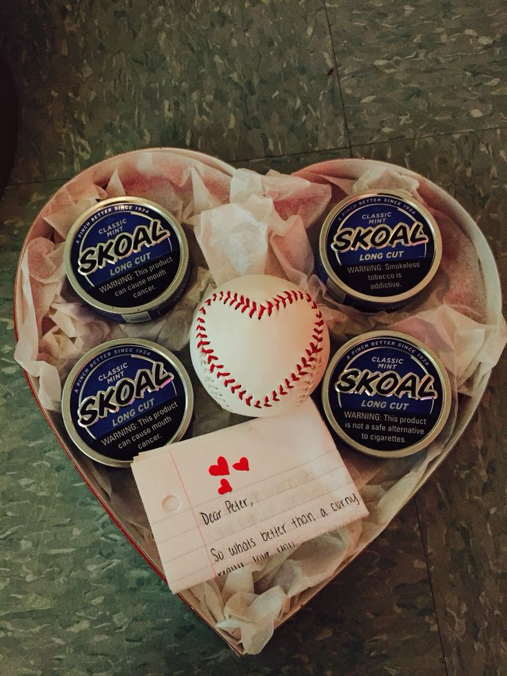 Valentines Day gift for him baseball girlfriend  Lifestyle  Diy gifts for boyfriend