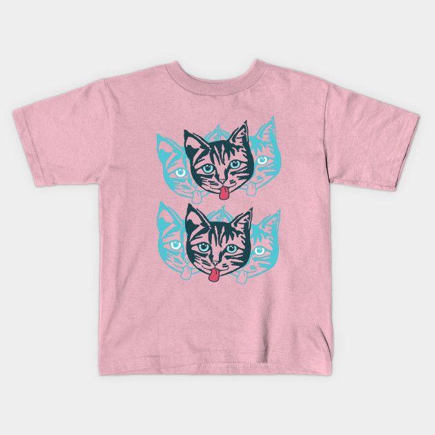 'Mollycat' Kids T-shirt at TeePublic.  #pinkfashion #kids #clothes #fun #tees #teepublic #trendingnow #apparel #kidswear #summer2017 #fashion #children #tshirts2017