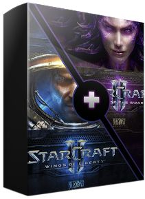 Another great deal on G2A! Starcraft 2 Wings of Liberty + Heart of The Swarm for only 37$!! That is an insanely good price so if you want to buy it then you can do that here: https://www.g2a.com/r/starcraft-2-heart-of-the-swam