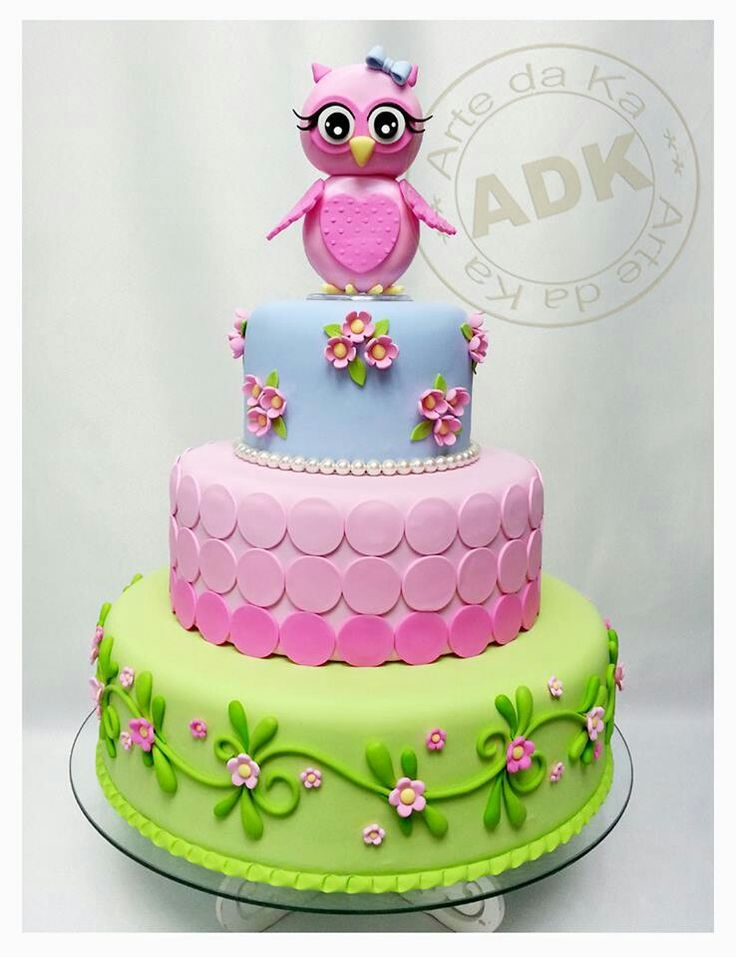 so sweet owl cake