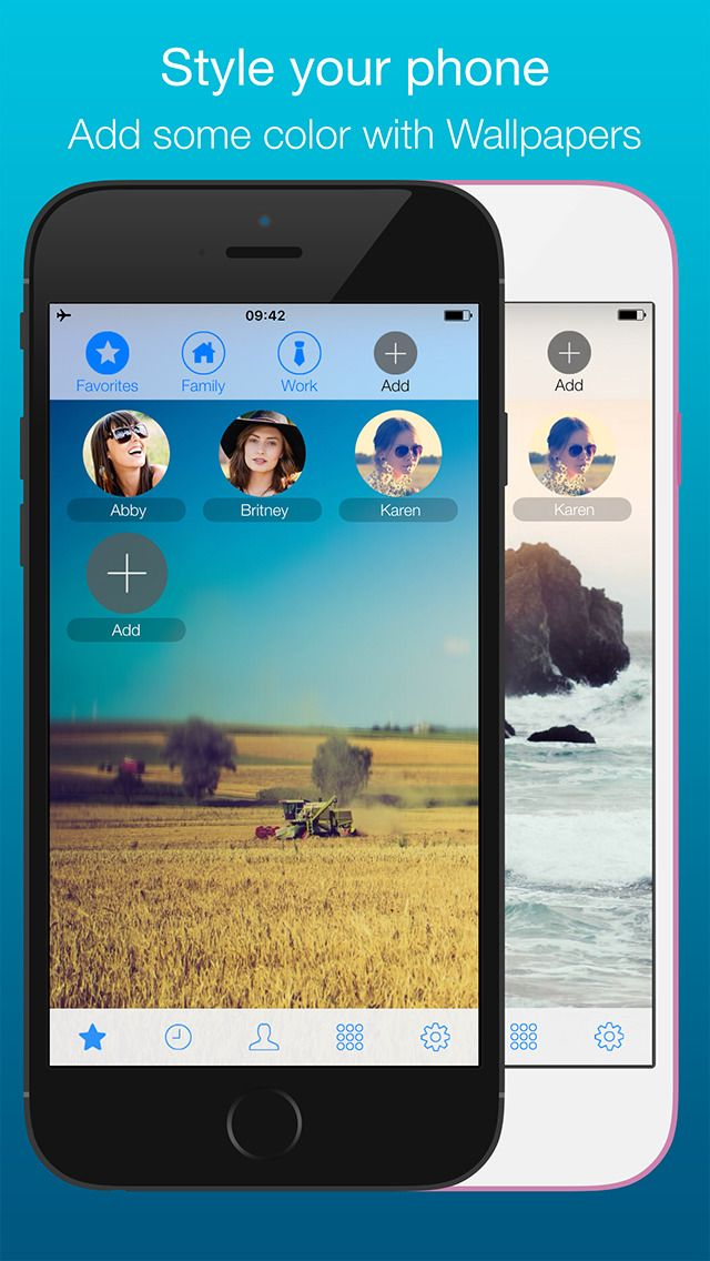 GoDial Pro - Speed Dial Facetime calls Group text & Group email - Contacts Manage Easier and Faster Address Book by MichalApps gone Free