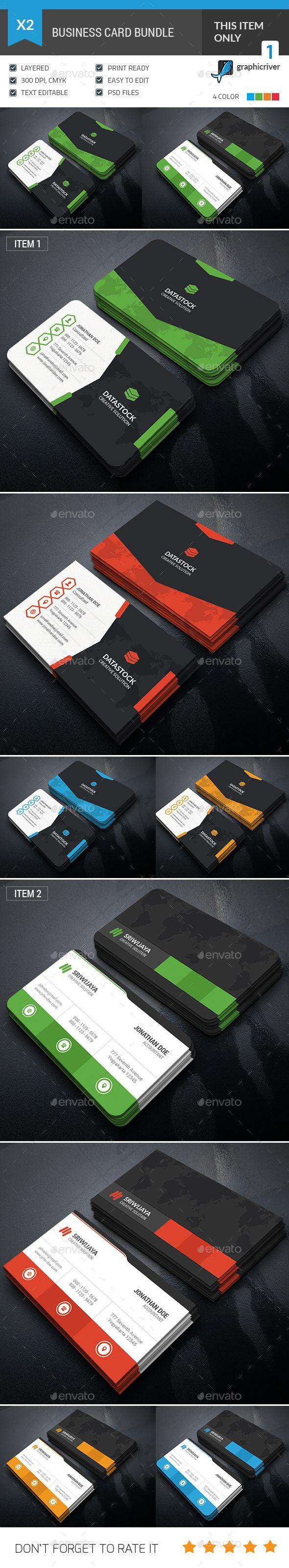 Business Card Template PSD Bundle. Download here: http://graphicriver.net/item/business-card-bundle/15765674?ref=ksioks