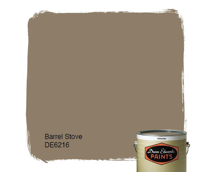 Dunn Edwards Paints Paint Color: Barrel Stove DE6216 | Click For A Free  Color