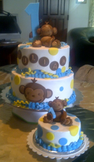 1000 Ideas About Monkey Cakes On Pinterest Monkey Cake