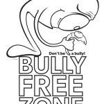 bullying coloring pages free printable coloring worksheets