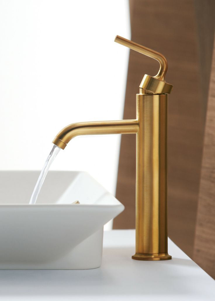 Purist Faucets And Accessories Combine Simple, Architectural Forms With  Sensual Design Lines And Careful Detailing