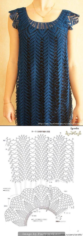 Crochet pullover.  Chevron                                                                                                                                                                                 More