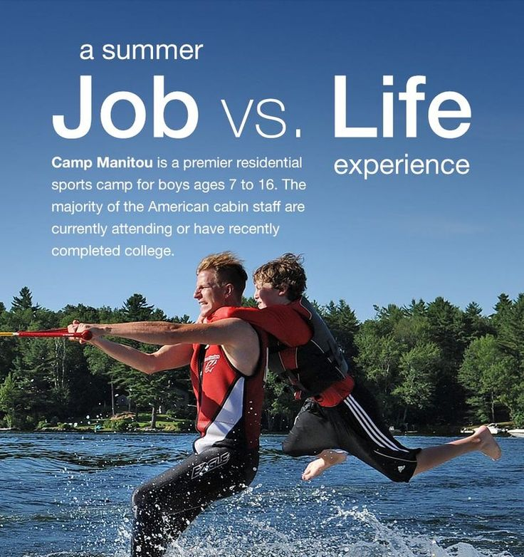 The  Best Summer Camp Counselor Jobs Ideas On