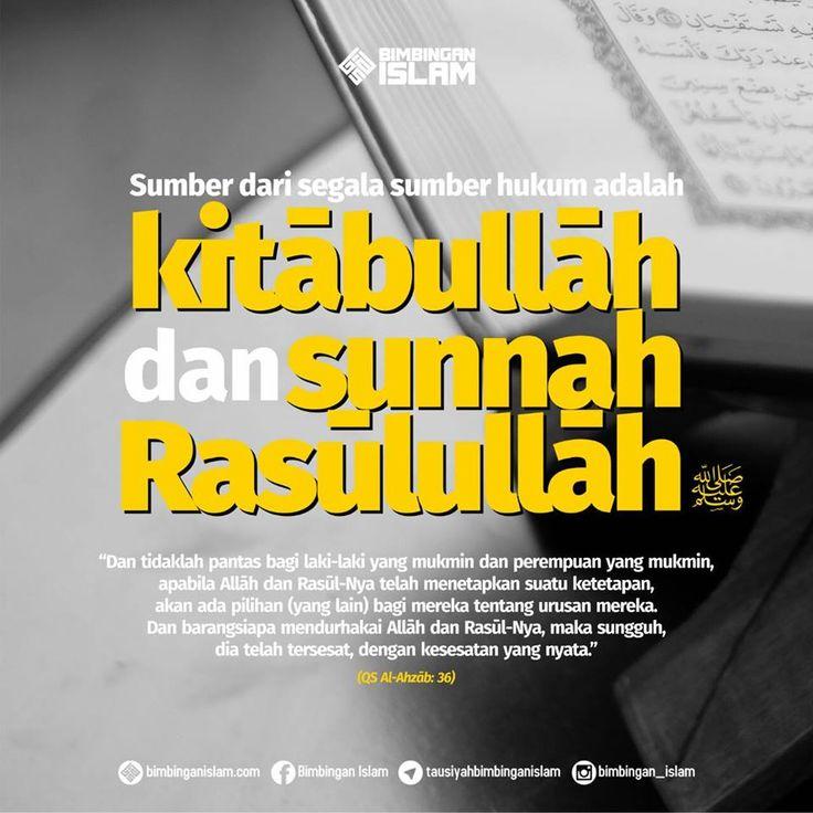 Kitabullah & Sunnah Rasulullah