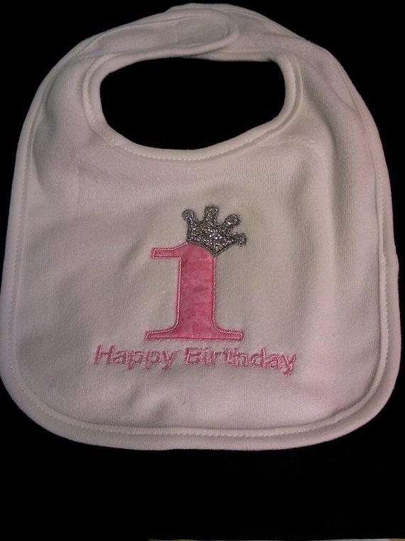 Bibs happy 1st birthdays and 1st birthdays on pinterest