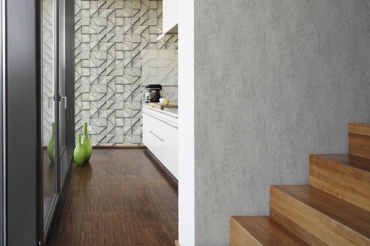 3D tapeta na stenu je vhodná do kuchyne, obývačky a vstupných hál | DIMEX