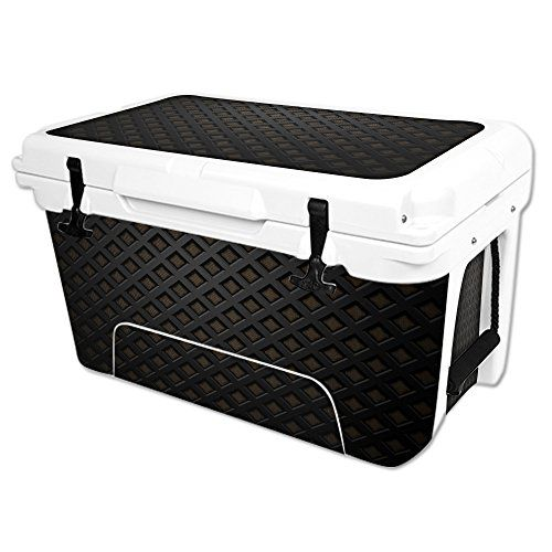 MightySkins Protective Vinyl Skin Decal Wrap for RTIC 45 qt Cooler cover sticker Black Wall ** Check this awesome product by going to the link at the image.(This is an Amazon affiliate link and I receive a commission for the sales)