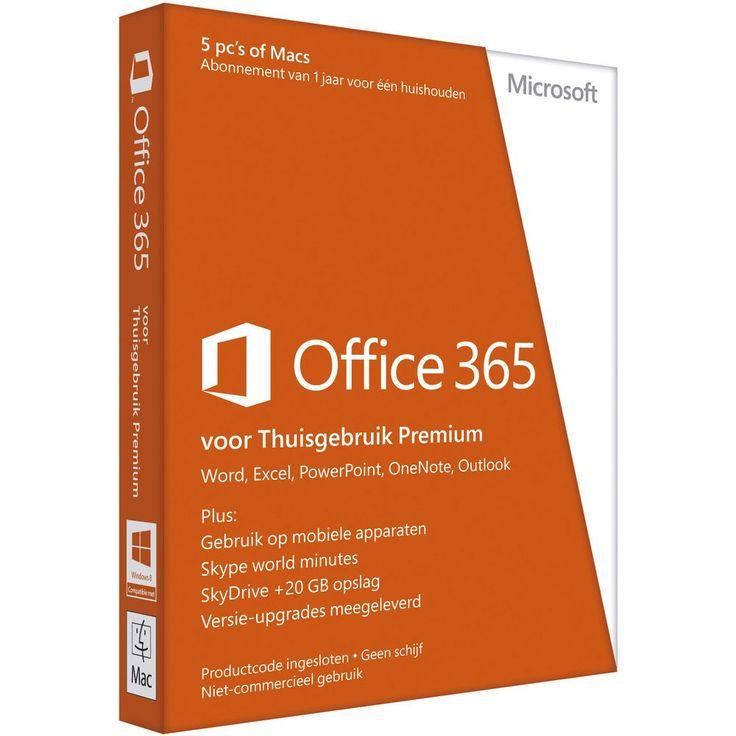 Microsoft Office 365 Home Premium NL   Staples.nl