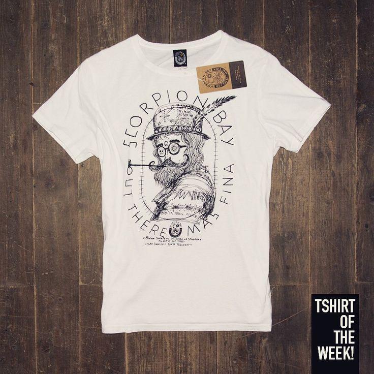 "Stampa ""Vintage Logo"" per la #TshirtOfTheWeek di oggi! Che ne dite? #vintage #classic #white #tshirt #FW2015 Acquistala subito >> http://www.scorpionbay.com/it/store/uomo/t_shirt-e-polo/t_shirt-105607"