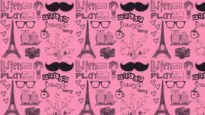 Mustache and paris