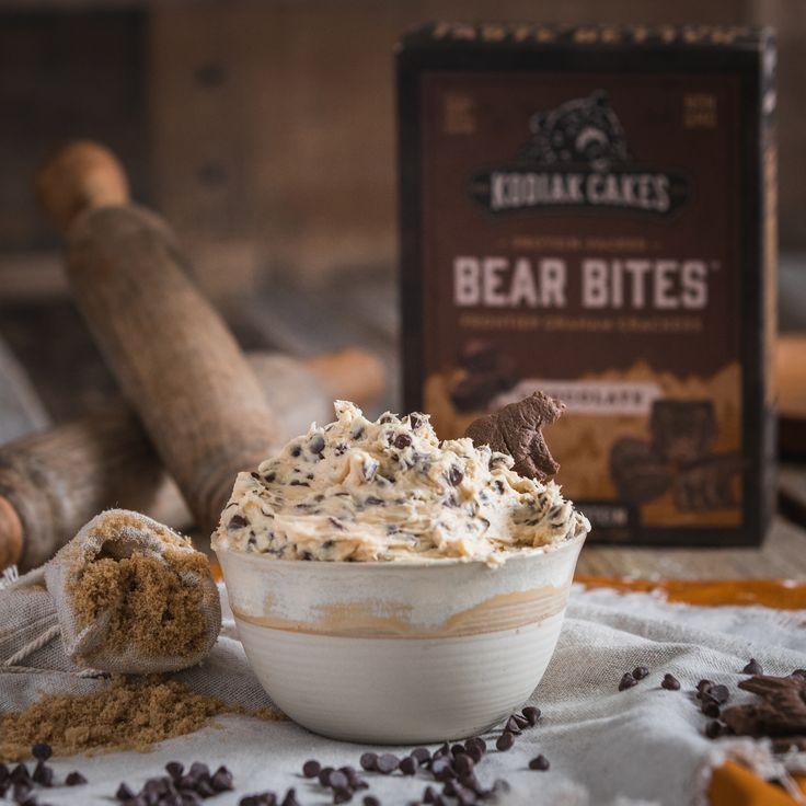 Bear bite cookie dough dip in 2020 edible cookies