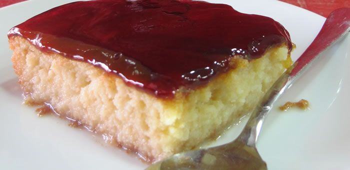 tres-leches top