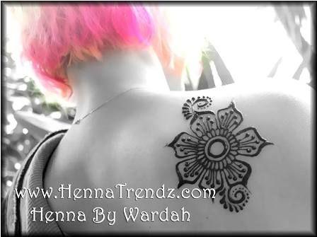 Henna flower tattoo designs, henna flower designs
