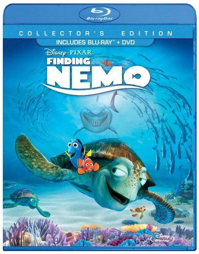 Finding Nemo [3 Discs] [Includes Digital Copy] [Blu-ray/DVD]