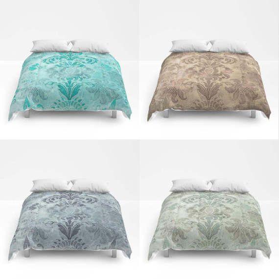 Grunge Damask Duvet Cover Or Comforter Bed Cover Bedding Modern