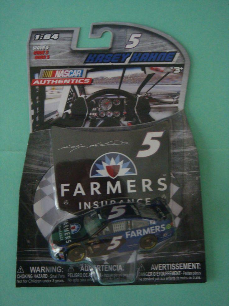2016 1/64 #5 KASEY KAHNE WAVE 5 FARMERS INSURANCE NASCAR AUTHENTICS