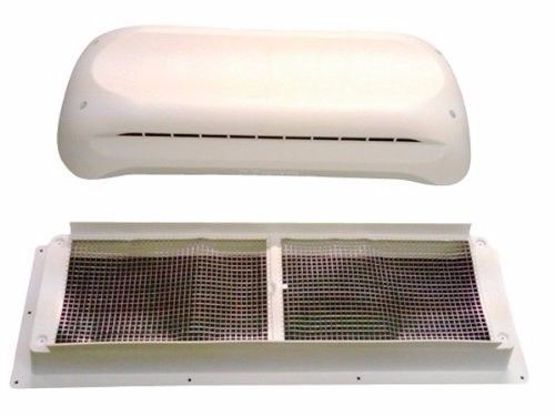 Refrigerator Roof Vent Cap and Base Kit Dometic 3311236.000 RV Parts White New #Dometic