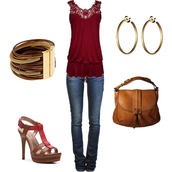 outfit: Red Tops, Date Night, Cute Tops, Dressy Casual, Dreams Closet, Fashion Ideas, Style, Casual Outfits, Casual Dressy