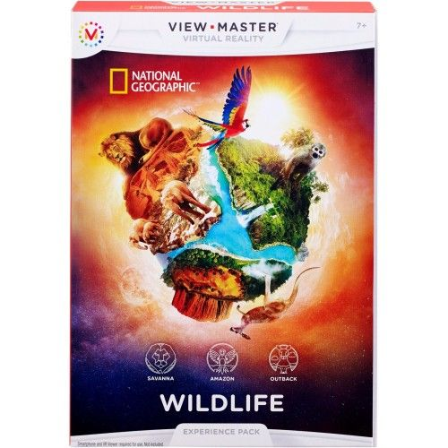 Non-license View Master VR Experience pack: Wildlife