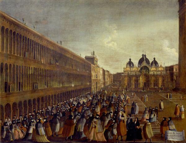 """""""Il passeggio delle maschere il giorno di S. Stefano"""", 1779?-1792 #gabrielbella #querinistampalia"""