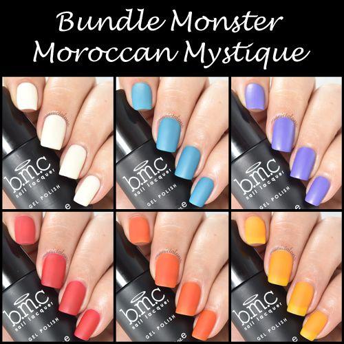 Bundle Monster Moroccan Mystique Matte Gel Polish Collection