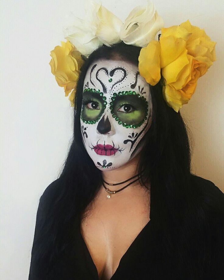 Halloween Makeup 2016 catrina